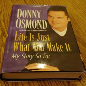 Donny Osmond memoir